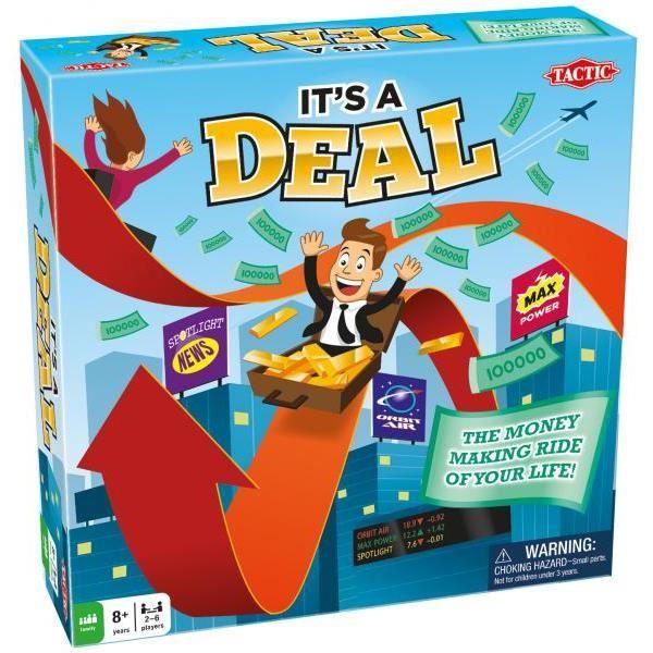 Tactic It's a Deal, Simulation économique, Enfants et adultes, 45 min, Garçon-Fille, 8 année(s), 250 mm
