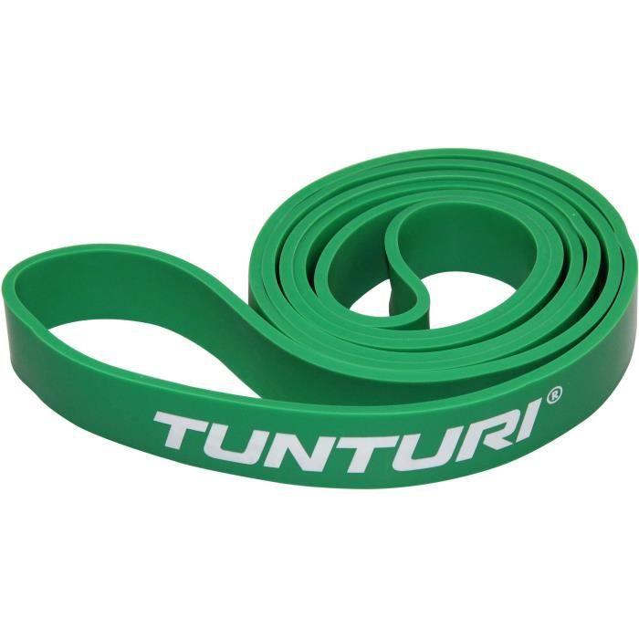 TUNTURI Bande de force powerband moyen pour musculation vert