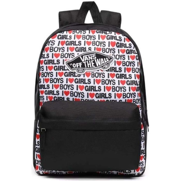 Sac a dos Vans WM Realm Backpack I Heart Boys GI