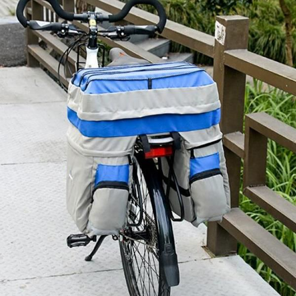Vélo Porte-bagages sac à provisions Sac Panier Vélo Sac Bagages Sac Vert