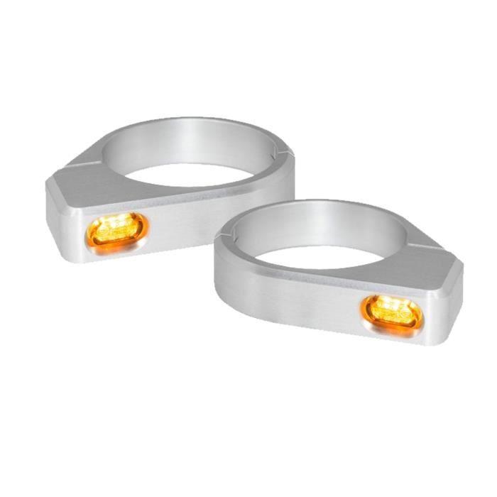 4x 10mm Mini Turn Signal Clignotant Éclairage Ampoule Ovale Ambre Oeil Chat Moto