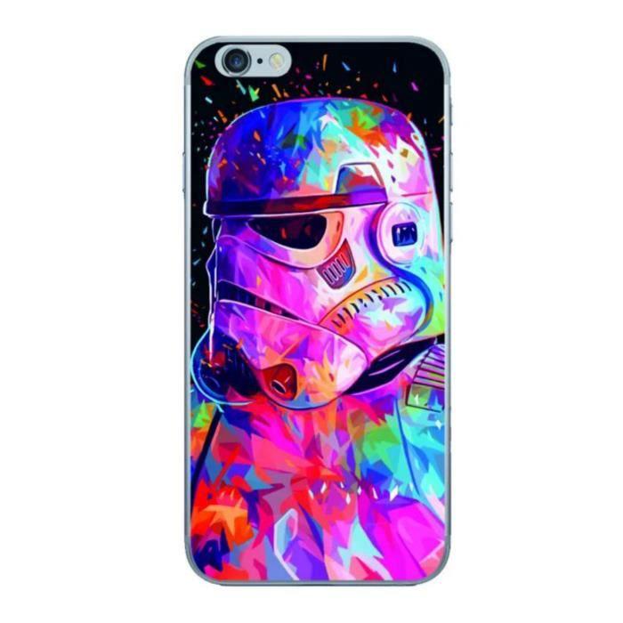 Coque Samsung Galaxy S7 Edge coloré Trooper Star Wars le Réveil de ...
