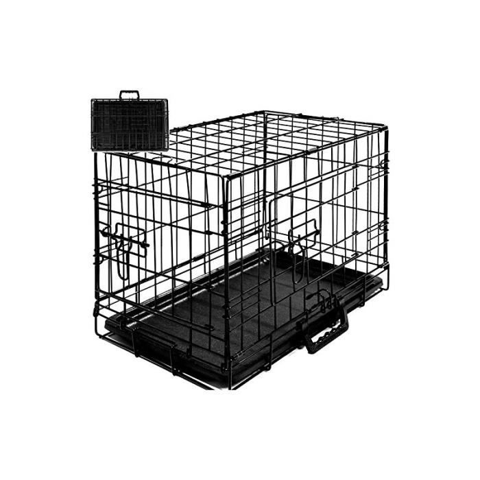 cage boite transport pour chien et animauxt pliable achat vente caisse de transport cage. Black Bedroom Furniture Sets. Home Design Ideas