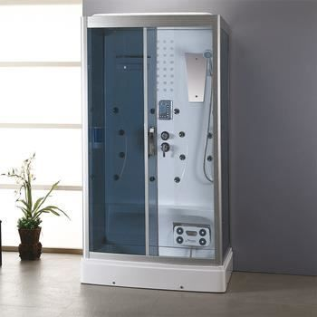 cabine douche hydromassante sauna eco 8109 achat. Black Bedroom Furniture Sets. Home Design Ideas