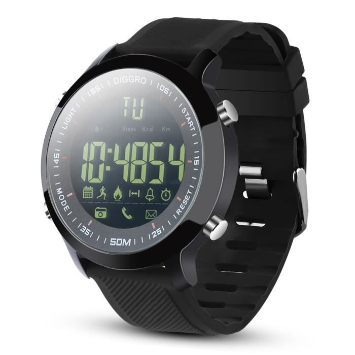 MONTRE CONNECTÉE Montre Smart Watch/Montre Connectée Etanche IP68(P
