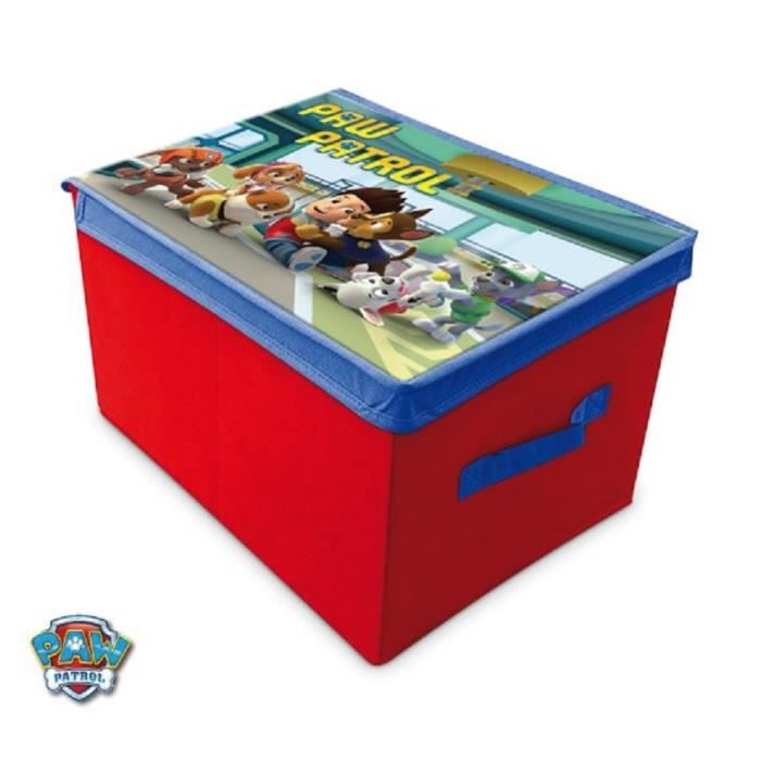 boite de rangement enfant disney paw patrol pat patrouille. Black Bedroom Furniture Sets. Home Design Ideas