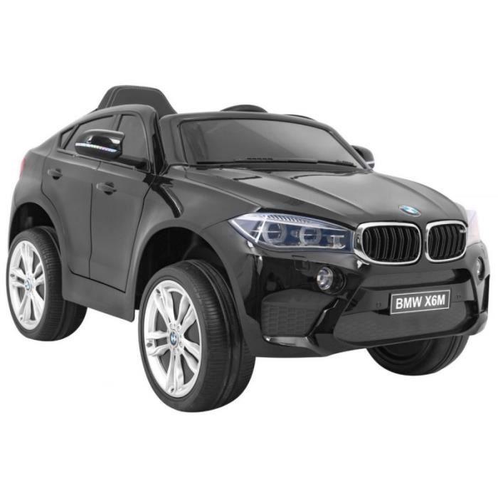 VOITURE ELECTRIQUE ENFANT EROAD - Voiture électrique BMW X6 M  Noir modèle 2