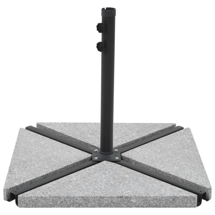 Lixada Pieds de parasols en granit poids pour supports de ...
