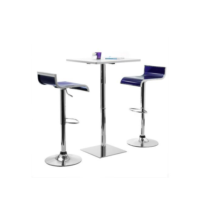 miliboo tabouret de bar cuisine violets des achat. Black Bedroom Furniture Sets. Home Design Ideas