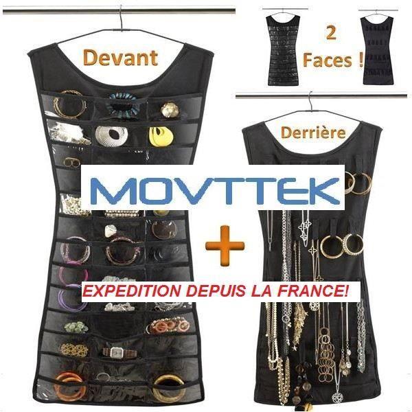 BOITE A BIJOUX Robe range bijoux et porte bijoux et colliers