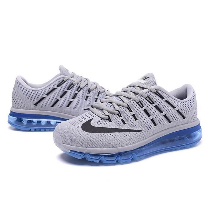 BASKET Homme Nike Air Max 2016 Chaussures de running gris