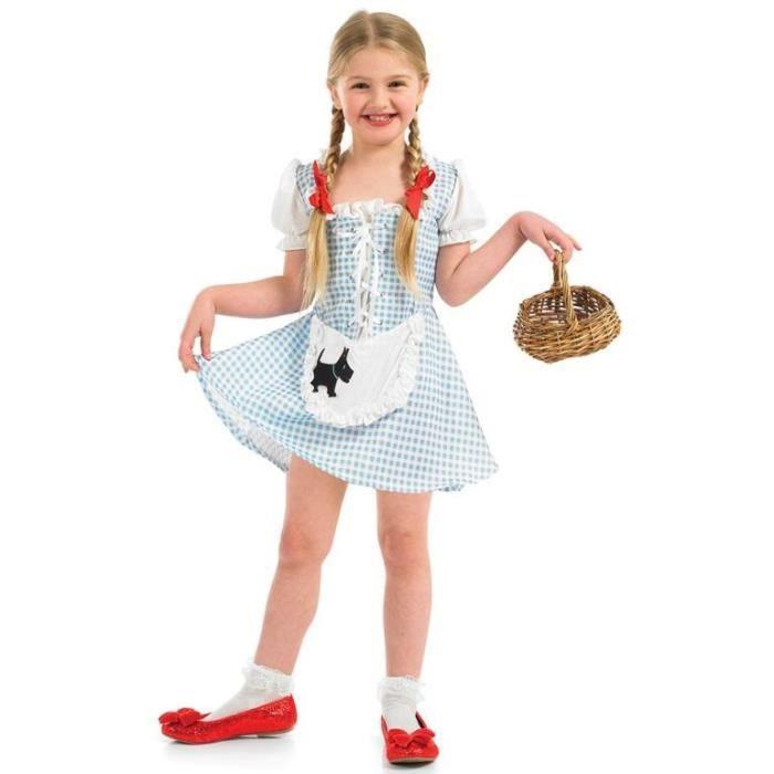 DÉGUISEMENT - PANOPLIE Costume Déguisement Dorothy Filles2973