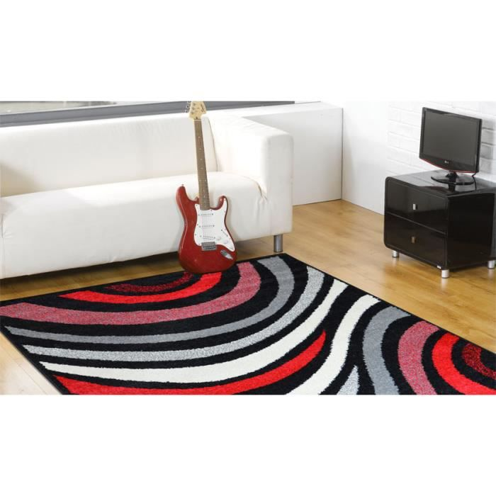 tapis pas cher moderne flirt 0217 f35k cm 200 achat. Black Bedroom Furniture Sets. Home Design Ideas