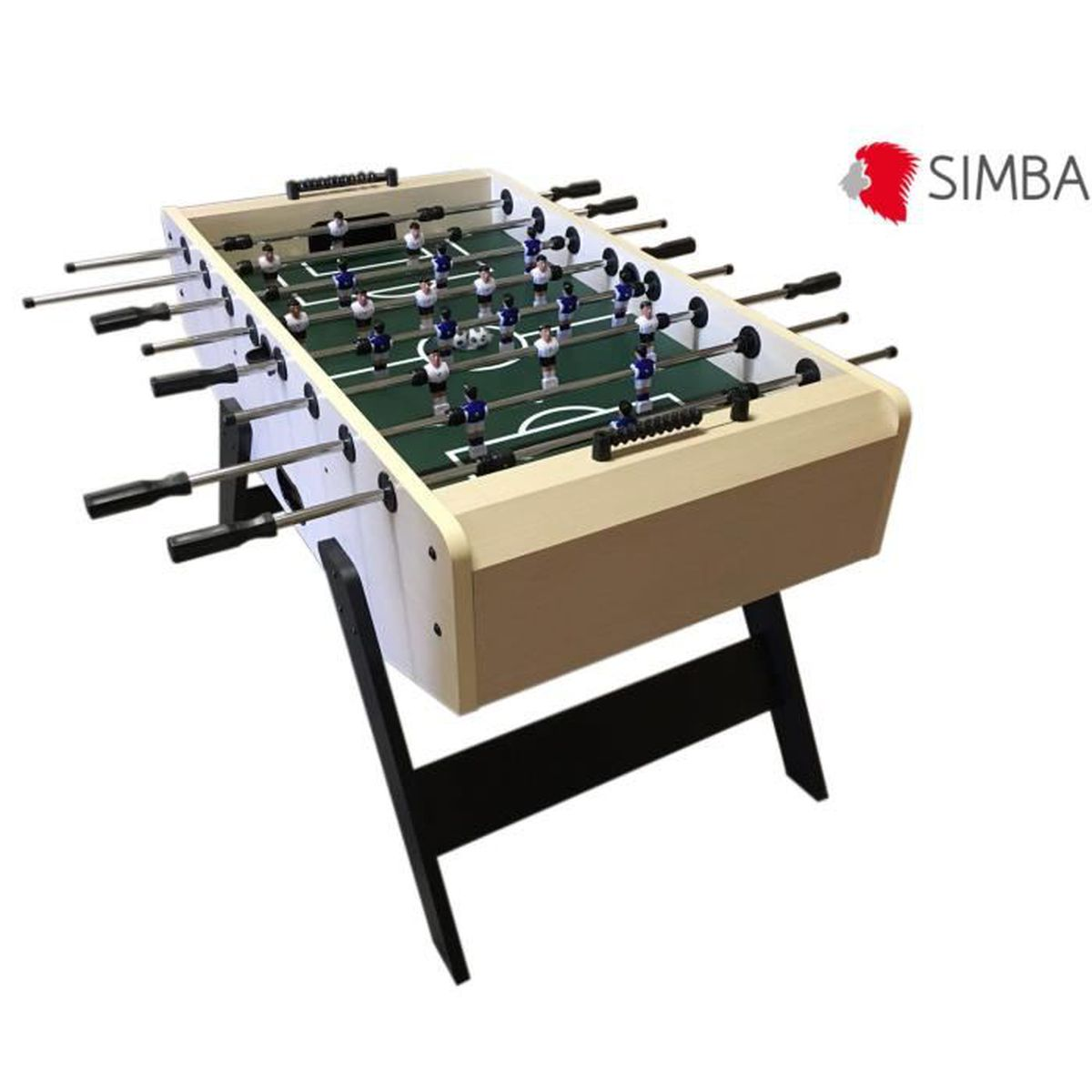 babyfoot baby foot table soccer table soccer table de jeu football bernabeu robuste durable. Black Bedroom Furniture Sets. Home Design Ideas