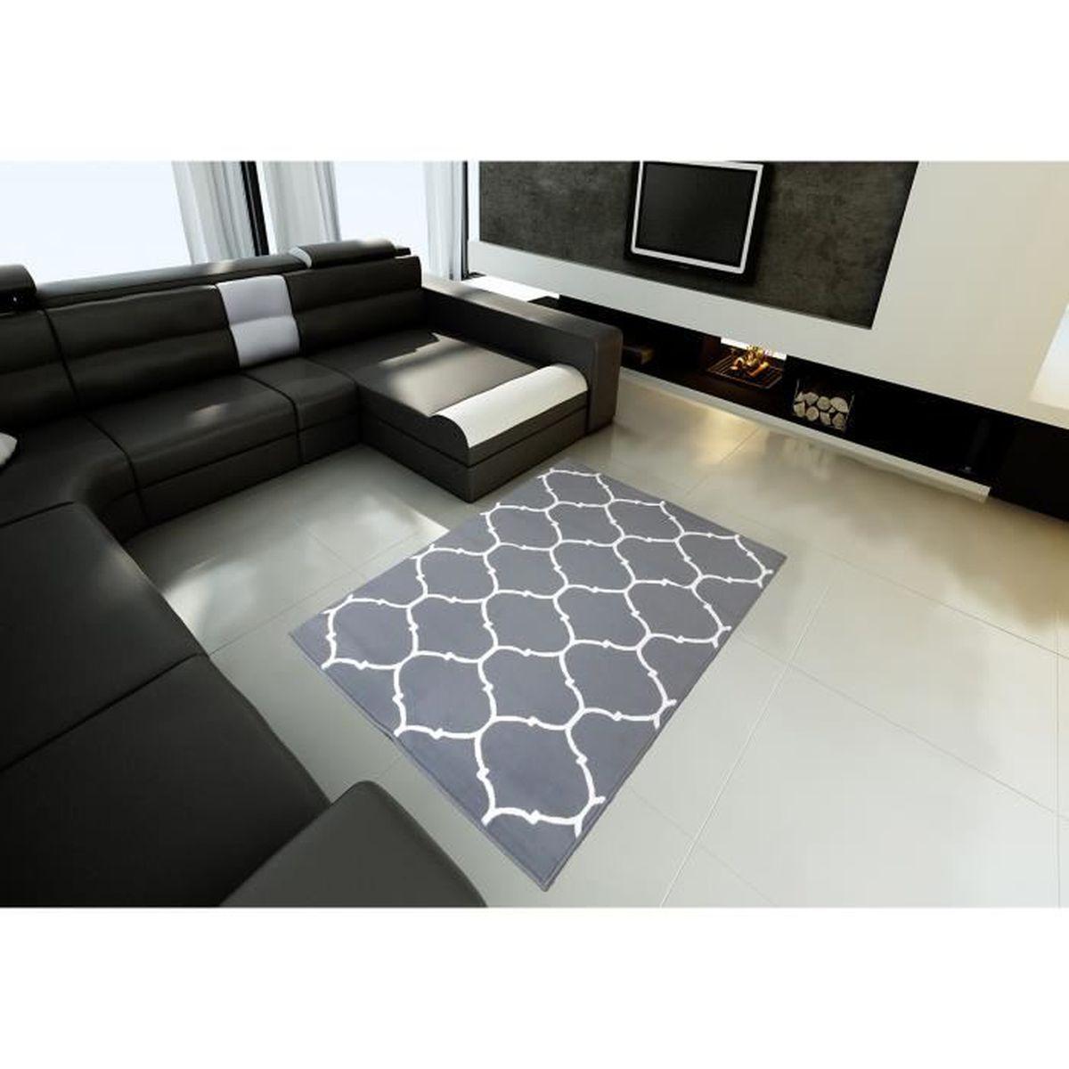 Tapis salon CLASSIQUE ORIENTAL gris DEBONSOL - 120x170cm