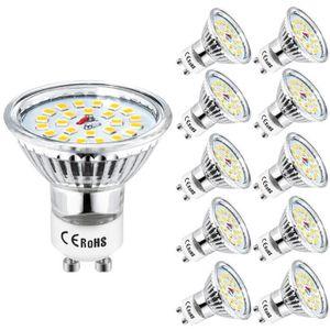 AMPOULE - LED Ampoule GU10 LED Wowatt Spot LED GU10 Blanc Chaud
