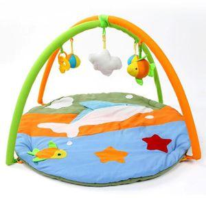 COUVERTURE - PLAID BÉBÉ Tapis de jeu Dolphin Soft pour les nouveau-nés Jeu