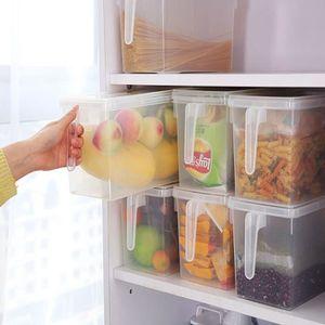 BOITE DE RANGEMENT Boîte de rangement pour réfrigérateur avec couverc