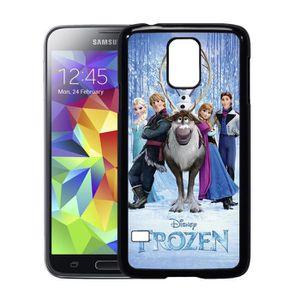 COQUE - BUMPER Coque Samsung galaxy S5 reine neige personnages