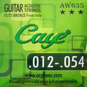 Filé rond 022 Ernie Ball 10722 Corde acoustique au détail Aluminium Bronze