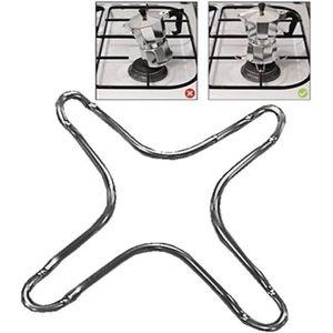 Reducteur de flamme reducteur cafeti/ère support reducteur pour cuisiniere gaz gaziniere a gaz cuisson poele caffettiera br/ûleur