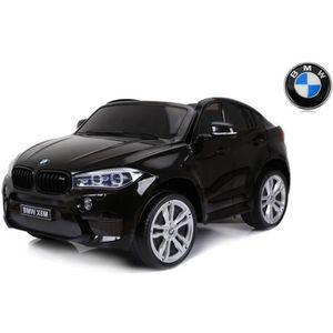 VOITURE ELECTRIQUE ENFANT BMW X6 M Electric Ride on Car, Black, Two seats in