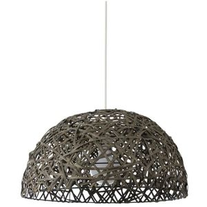 LUSTRE ET SUSPENSION DONG Lustre - suspension rotin tressé diamètre 42