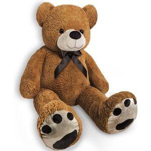 PELUCHE Grand nounours Ours en peluche géant brun Teddy Be