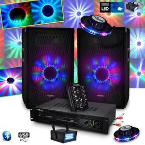 PACK SONO Kit Sono IBIZA DJ350LED 10