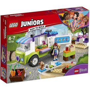 ASSEMBLAGE CONSTRUCTION LEGO® Juniors Friends 10749 Le marché bio de Mia