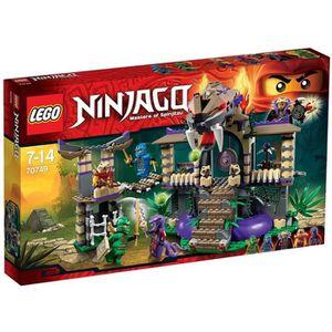 ASSEMBLAGE CONSTRUCTION LEGO® Ninjago 70749 Le Temple Anacondra