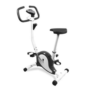 hot sale online c4948 5c8d0 Vélo d´appartement Vélo cardio LCD indoor gym fitness -100kg NOIR