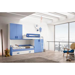 LIT MEZZANINE Chambre à coucher complète pour enfant Salvo