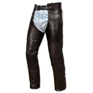 VETEMENT BAS Pantalon Cuir Vachette Chaps Hom...