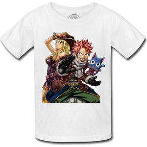 Monifuon Fairy Tail T-Shirt Chemise Anime Natsu T-Shirt Imprim/é en 3D Top d/ét/é pour Femmes Filles