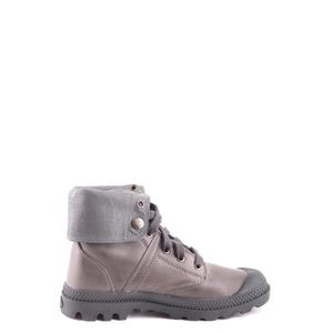 BOTTINE PALLADIUM FEMME MCBI418006O GRIS CUIR BOTTINES