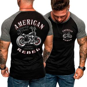 T-SHIRT les motards - 2019 nouvelle vie américain rebelle