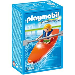 UNIVERS MINIATURE PLAYMOBIL 6674 Enfant et Kayak