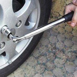 DÉMONTE-PNEU Outils de démontage Clé à ergot roue télescopique