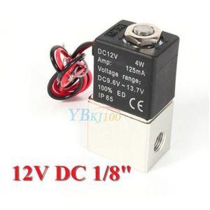 0-0,4MPA nylon 0-80 /° air Valeur de l/électrovanne 6mm DC 12V Electrovanne en plastique N//C /Électrovanne normalement ferm/ée pour eau gaz Valve