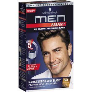COLORATION SCHWARZKOPF Gel Colorant Men Perfect Anti-Cheveux