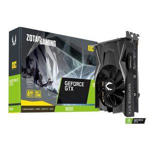 CARTE GRAPHIQUE INTERNE Zotac GeForce GTX 1650 OC 4GB GDDR5 Graphics Card,