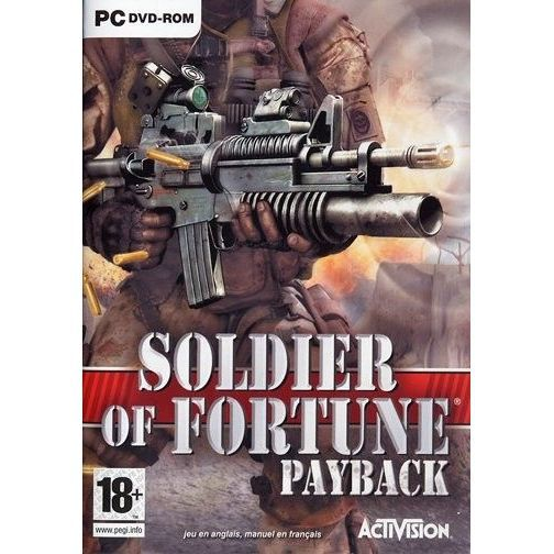 SOLDIER OF FORTUNE PAYBACK / JEU PC DVD-ROM