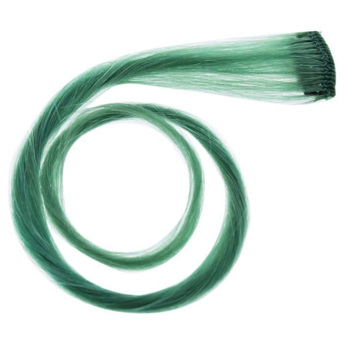 Human Hair Color Strip - Teal by Hairdo for Women - 16 Inch Color Strip