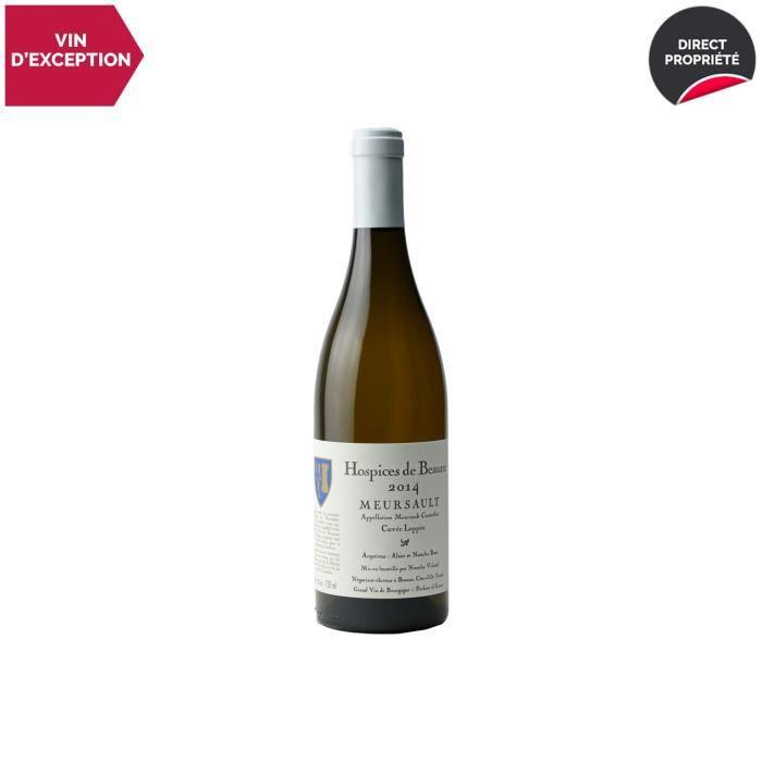Meursault Cuvée Loppin Blanc 2014 - 75cl - Hospices de Beaune - Vin AOC Blanc de Bourgogne - Cépage Chardonnay