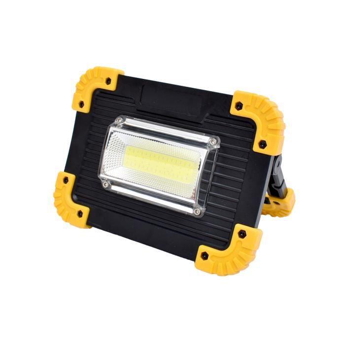 20w lumière de travail tente lumière extérieure étanche USB chargeant la lumière de camping au trésor -ink