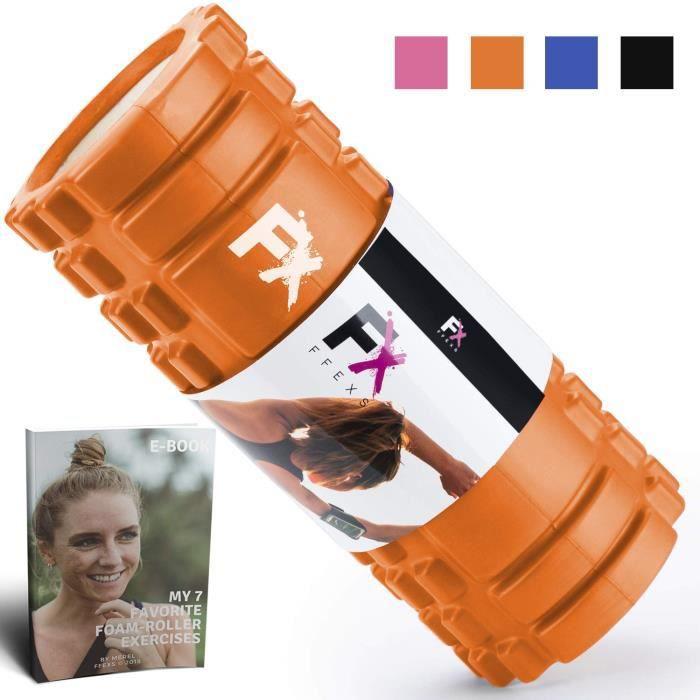 FX FFEXS Rouleau de Massage Foam Roller pour Trigger Point Massage Physiothérapie