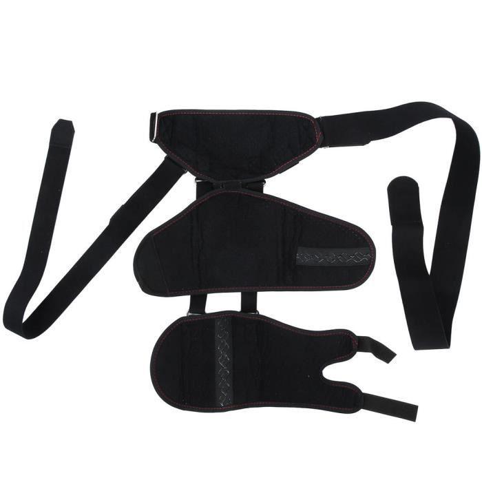 Drfeify Élingue de bras d'épaule Attelle de Bras d'Épaule Support de Récupération d'Hémiplégie par Luxation Équipement Sain
