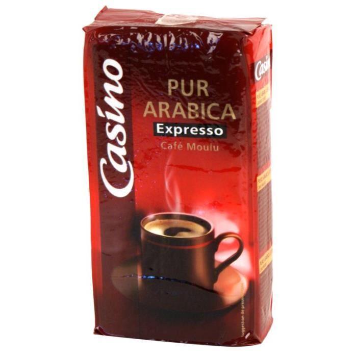 Café moulu expresso arabica - 250g