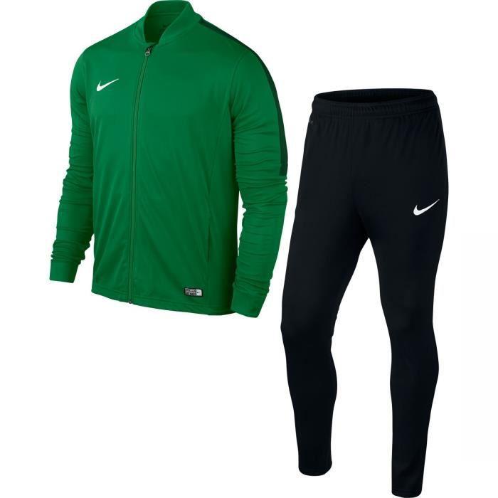 Survêtement Nike Academy16 Yth Knt Enfant (Vert/Noir/Blanc) Taille: XS (6-7 ans/122-128)